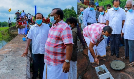 CSIAP activities implemented under the patronage of Minister of Agriculture Hon. Mahindananda Aluthgamage.
